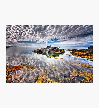 The Sky Above The Sky Below Photographic Print
