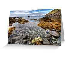 A Sea Full of Pebbles Greeting Card