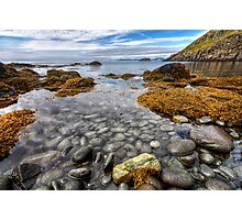 A Sea Full of Pebbles Photographic Print