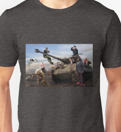 World Leaders on Tiger II Unisex T-Shirt