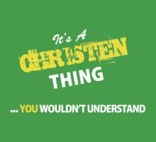 It's A CHRISTEN thing, you wouldn't understand !! by satro