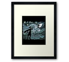 Starry Fantasy Framed Print