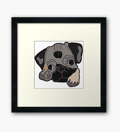 I LOVE MY DOGS_32 Framed Print