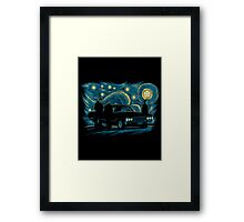 Supernatural Night Framed Print
