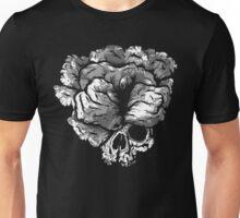 Clicker Skull - The Last of Us (B&W version) Unisex T-Shirt