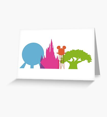 The Magic Icons Greeting Card
