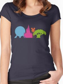 The Magic Icons Women's Fitted Scoop T-Shirt