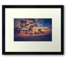 Nostalgic Framed Print