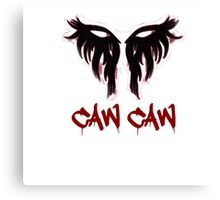 Caw Caw Antivan Crow Canvas Print