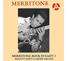 Merritone Rock Steady 1 : Shanty Town Curfew 1966 - 1967 Photographic Print