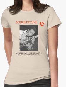 Merritone Rock Steady 1 : Shanty Town Curfew 1966 - 1967 Womens Fitted T-Shirt