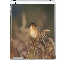 The Golden-headed cisticola iPad Case/Skin
