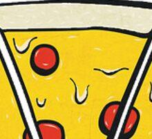 pizza supply co. Sticker