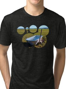 Outdoor pool | conceptual photography Tri-blend T-Shirt