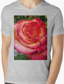 rose after rain  Mens V-Neck T-Shirt