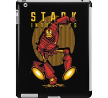 the giant iron man iPad Case/Skin