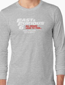 all roads lead to this Long Sleeve T-Shirt
