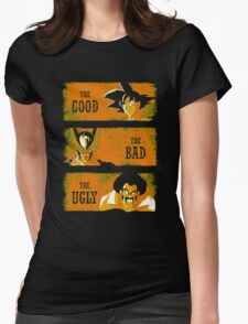 The Good vs the Bad and the Ugly Womens Fitted T-Shirt