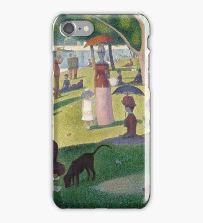 Sunday on the Island of La Grande Jatte iPhone Case/Skin
