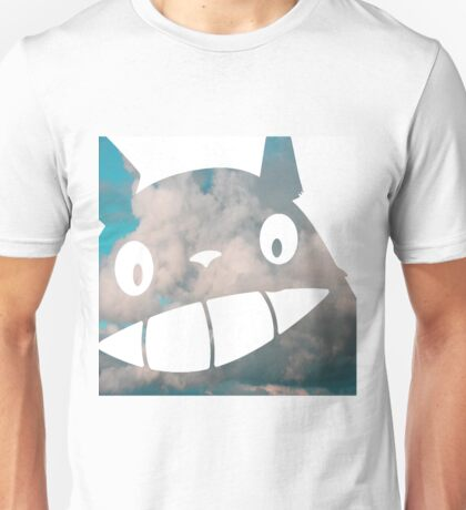 Troll in the Sky - My Neighborn Totoro Unisex T-Shirt