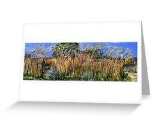 Hidden Life in the Swamp by Gidja Walker Greeting Card