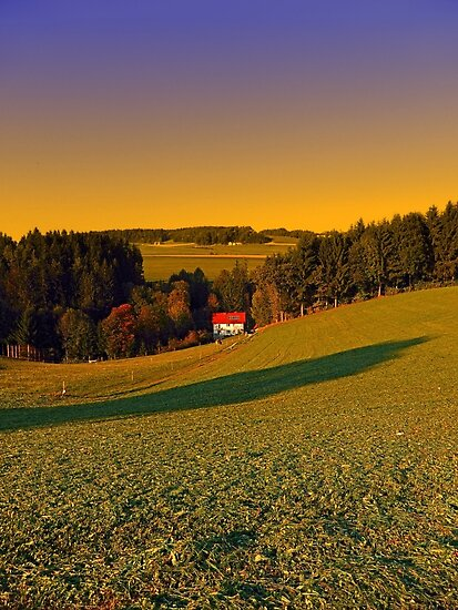 Beautiful sundown in the countryside | landscape photography by Patrick Jobst