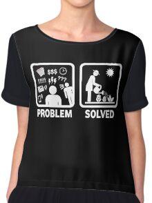 Funny Gardening Women's T Shirt Chiffon Top