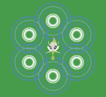 #251 Celebi ~ TIME Kids Clothes