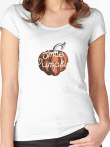 Smile Pumpkin Women's Fitted Scoop T-Shirt