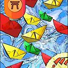 Paper Boats by RobynLee