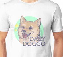 Daily Doggo Logo - Wink Unisex T-Shirt