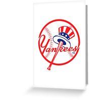 newyork team Greeting Card