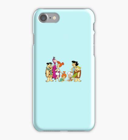 all familly Fred Flintstone iPhone Case/Skin