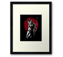 The Legendary Soldier Framed Print