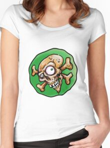 Skully Wully Women's Fitted Scoop T-Shirt