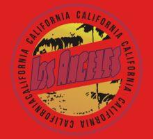 California Los Angele Kids Tee