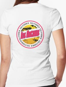 California Los Angele Womens Fitted T-Shirt
