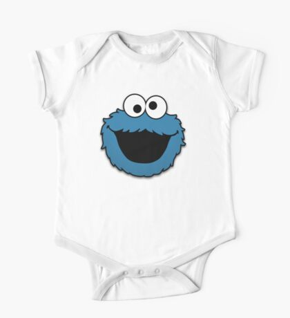 Cookie Monster (3) One Piece - Short Sleeve