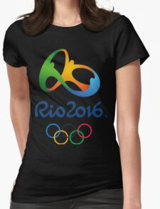 Rio Olympics 2016 Womens Fitted T-Shirt
