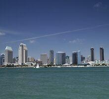 San Diego Skyline by fuglee
