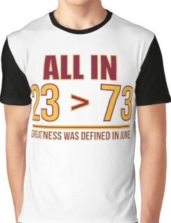 23 Is Greater Than 73 Graphic T-Shirt