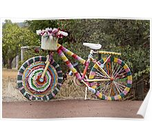 The Knitted Bike Poster