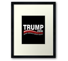 Trump Make America Great Again Framed Print