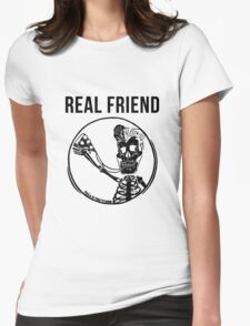 real friends Womens Fitted T-Shirt