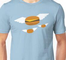 """Food Flight"" Burger  Unisex T-Shirt"