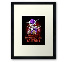 Uncle Frieza Framed Print