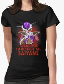 Uncle Frieza Womens Fitted T-Shirt