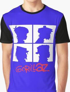 2016-New-100-Quality-Gorillaz 2422 Graphic T-Shirt