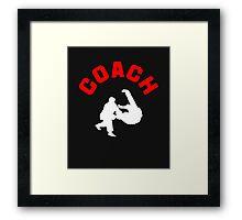 Judo Coach  Framed Print