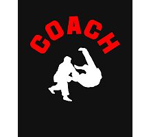 Judo Coach  Photographic Print